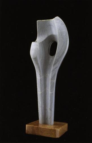 """F.358""""Osamenta Vertical""""1987-Granito.70x28x53 cm"""